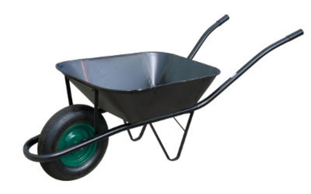 Fúrik stavebný nafukovacie koleso 60l čierna korba WW